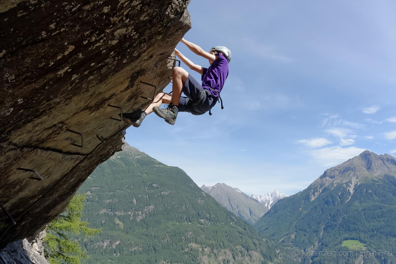 Lehner Wasserfall Klettersteig