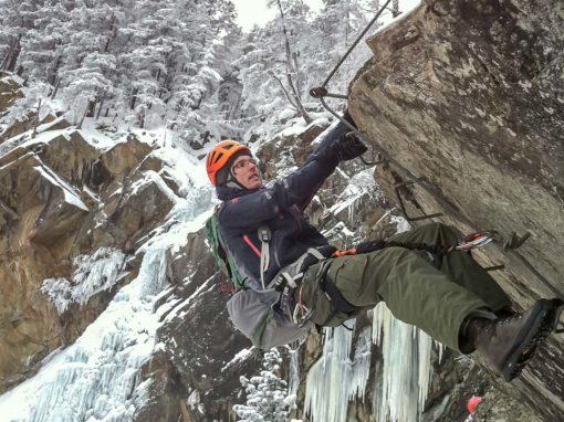 Winter am Lehner Wasserfall